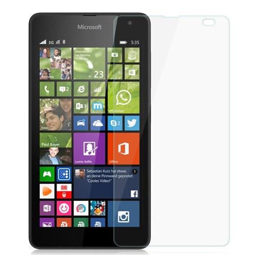 Duck Nokia Lumia 535 Kırılmaz Cam Ekran Koruyucu