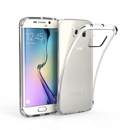 Cayka Samsung S6 Edge Şeffaf Kılıf Tpu