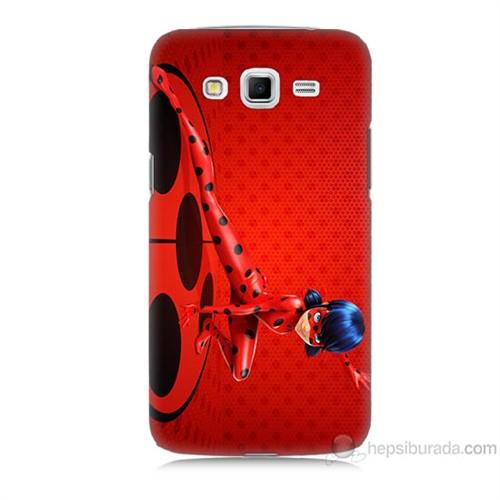 Teknomeg Samsung Galaxy Grand 2 Kapak Kılıf Sevimli Kahraman Baskılı Silikon