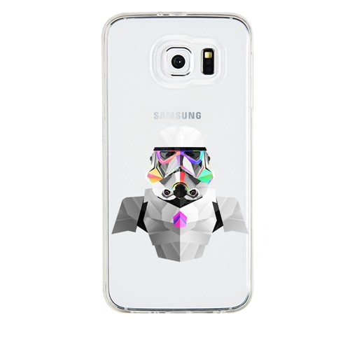 Remeto Samsung Galaxy Note 3 Neo Transparan Silikon Resimli Star Wars