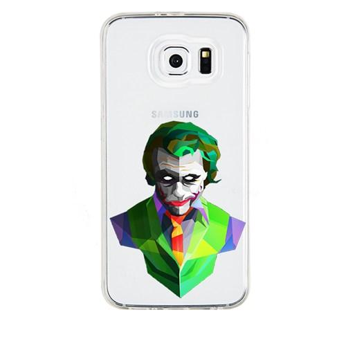 Remeto Samsung Galaxy S5 Mini Transparan Silikon Resimli Joker