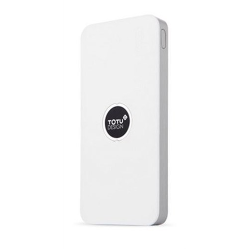 Totu Design 8000 Mah Powerbank Beyaz Yedek Batarya