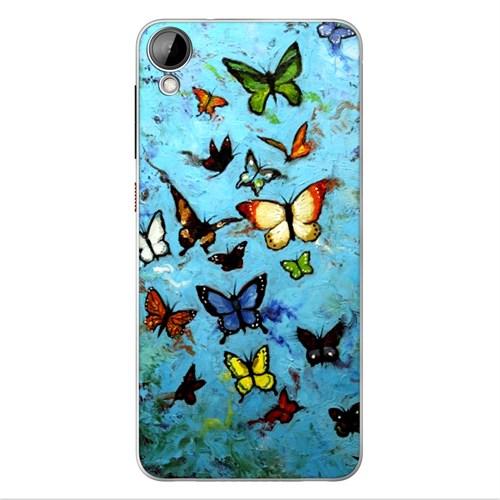Cover&Case Htc Desire 530 Silikon Tasarım Telefon Kılıfı