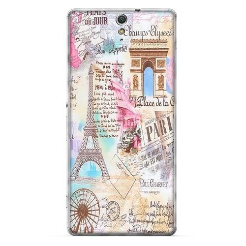 Cover&Case Sony Xperia C5 Silikon Tasarım Telefon Kılıfı