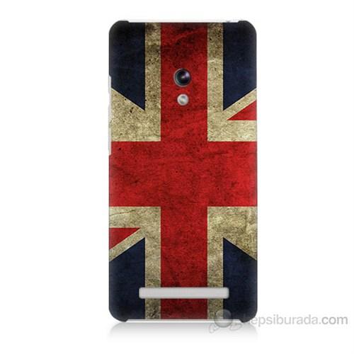 Teknomeg Asus Zenfone 5 Lite İngiltere Bayrağı Baskılı Silikon Kapak Kılıf