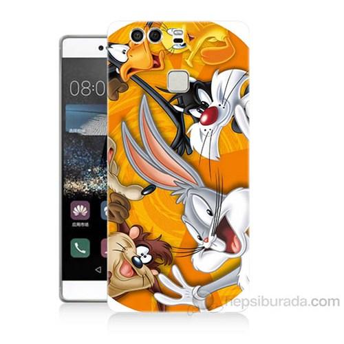 Teknomeg Huawei P9 Disney Karakterleri Baskılı Silikon Kapak Kılıf