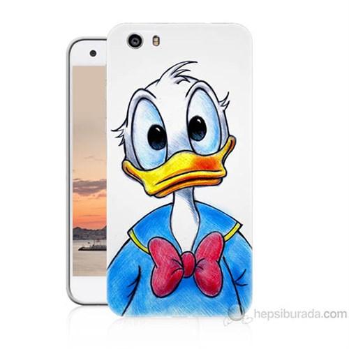 Teknomeg Vestel Venüs V3 5570 Donald Duck Baskılı Silikon Kapak Kılıf