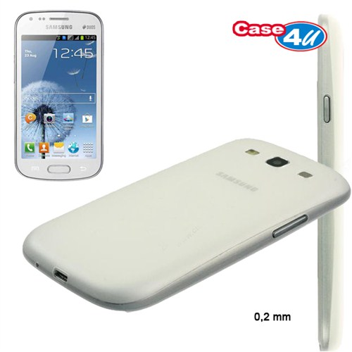 Case 4U Samsung Galaxy S Duo S7562 0.2 mm Kılıf