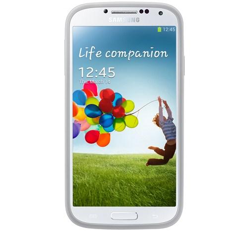Samsung Galaxy S4 i9500 Arka Kapak (Darbe Emici) Beyaz EF-PI950BWEGWW