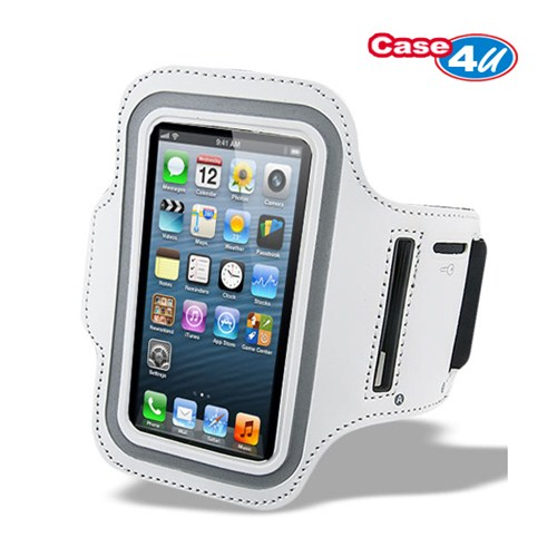 Case 4U iPhone 5/5s Kol Bandı Gri