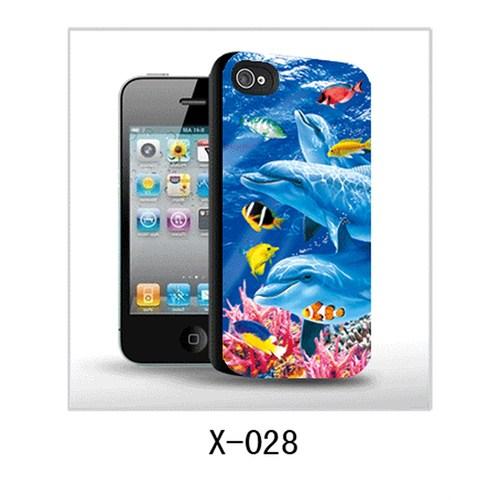 I-Techgear Apple iPhone4/4S 3D Arka Kapak Balıklar X-028