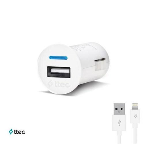Ttec Compact Araç Şarj Cihazı iPhone 5/5s/6/6Plus(1000mAh)