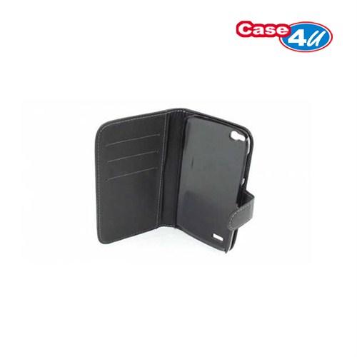 Case 4U General Mobile Discovery Kapaklı Cüzdan Kılıf