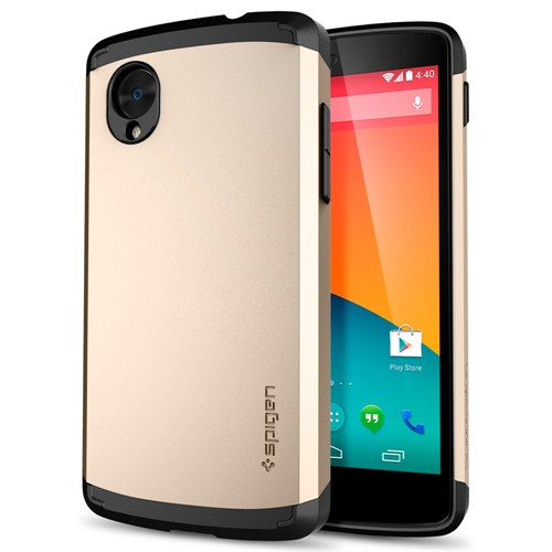 Spigen sgp nexus 5 slim armor champagne gold k l f fiyat for Spigen nexus 5 template