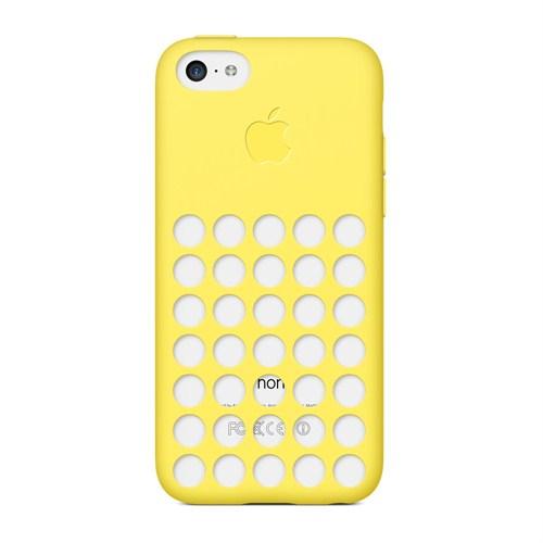 Apple iPhone 5c Kılıf Sarı - MF038ZM/A