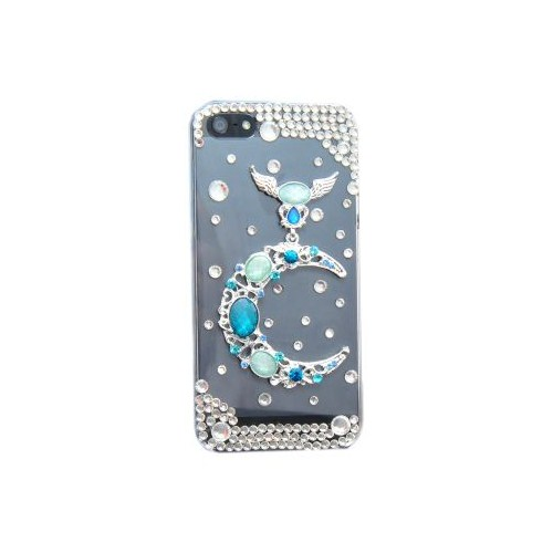 Vacca Apple iPhone 5/5s Zümrüt Hilal Lady-Line