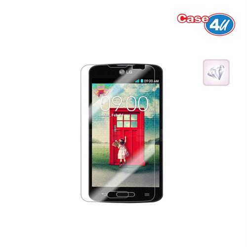 Case 4U LG L70 Ultra Şeffaf Ekran Koruyucu (Parmak izi bırakmaz)