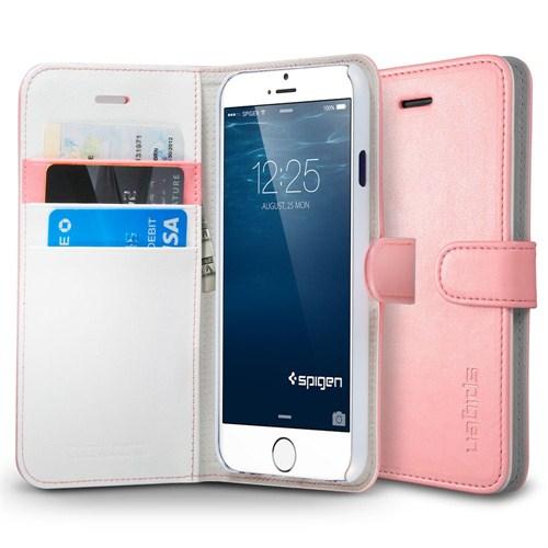 """Spigen Sgp Wallet S Pink for iPhone 6 (4.7"""") (PET) Kılıf - SGP11167"""