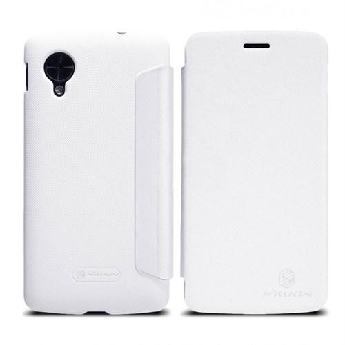 Nillkin Lg Nexus 5 Beyaz Kılıf (Ekran koruyucu hediyeli)