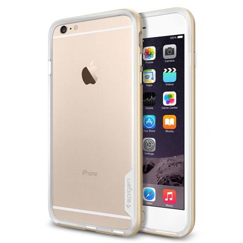 "Spigen SGP iPhone 6 Plus Kılıf (5.5"") Neo Hybrid EX Series Champagne Gold - SGP11061"