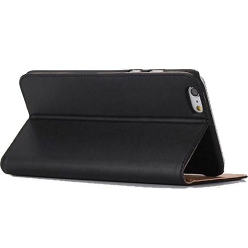 Case 4U Apple iPhone 6 Plus Delux Siyah Kılıf