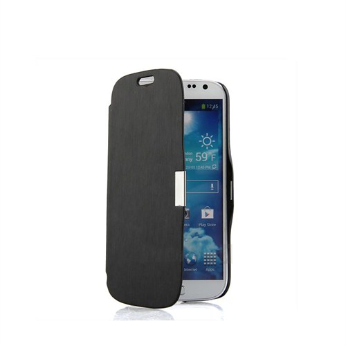 Case 4U Samsung i9190 Galaxy S4 Mini Stand Kılıf Siyah