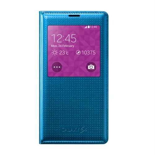 Samsung Galaxy S5 Kapaklı Kılıf Mavi - EF-CG900BEEGWW
