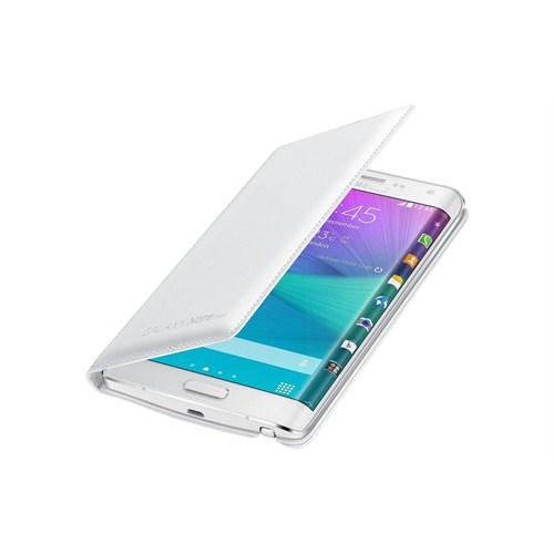 Samsung Galaxy Note Edge Kapaklı Kılıf Beyaz - EF-WN915BWEGWW