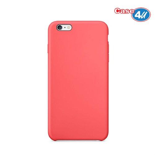 Case 4U Apple iPhone 6 İnce Arka Kapak Pembe