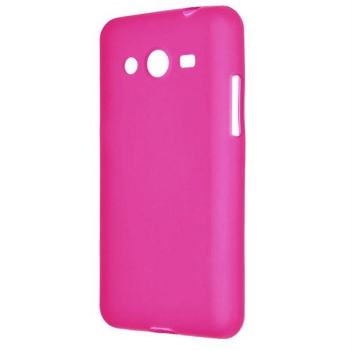Case 4U Samsung Galaxy Core Prime G360 Soft Silikon Kılıf Pembe