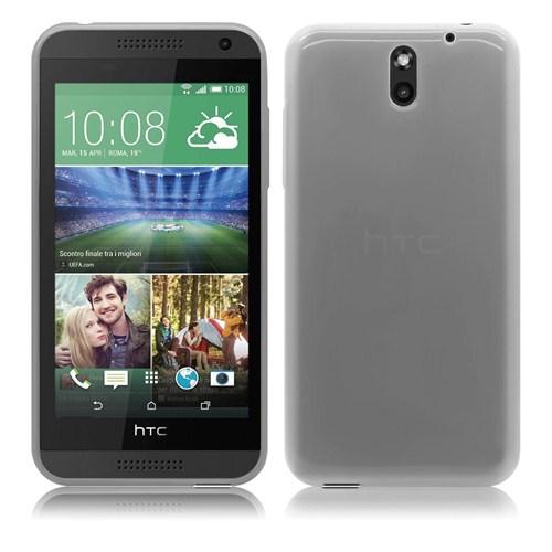 Case 4U HTC Desire 610 Soft Silikon Kılıf Şeffaf