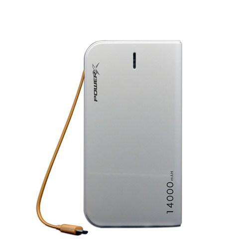 Codegen Powerx 14000 mAh 3 USB Çıkışlı Taşınabilir Şarj Cihazı + (3in1 Kablo Hediyeli)