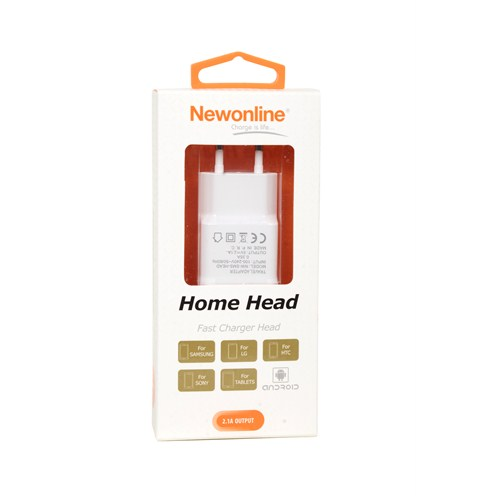 Newonline Ev Şarj Adaptörü (2.1A) - NW-SMS-HEAD
