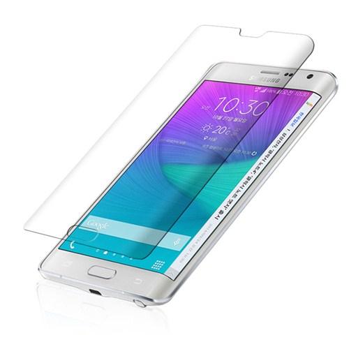 Microsonic Samsung Galaxy Note Edge Kavis Dahil Tam Ekran Kaplayıcı Şeffaf Koruyucu Film