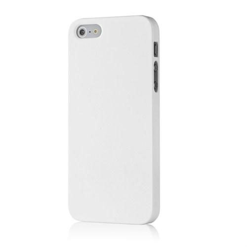 Microsonic Premium Slim İphone 5S Kılıf Beyaz