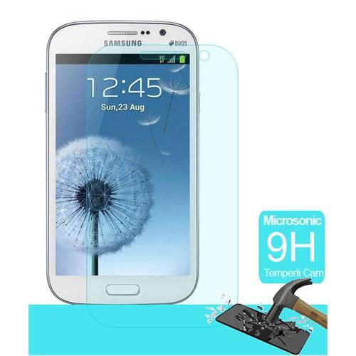 Microsonic Temperli Cam Ekran Koruyucu Samsung Galaxy Grand İ9082 Kırılmaz Film