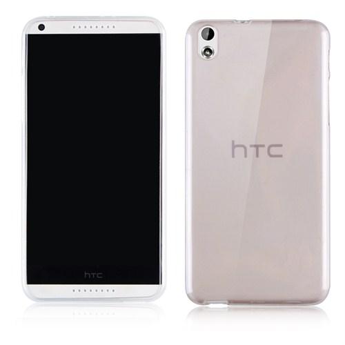 Microsonic Transparent Soft Htc Desire 816 Kılıf Siyah