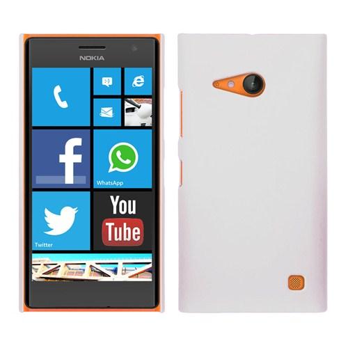Microsonic Premium Slim Nokia Lumia 735 Kılıf Beyaz