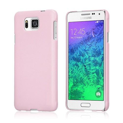 Microsonic Premium Slim Samsung Galaxy Alpha Kılıf Pembe