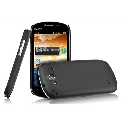 Microsonic Rubber Kılıf Nokia Huawei Vision U8850 Siyah