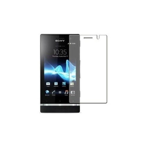 Microsonic Sony Xperia U Ultra Şeffaf Ekran Koruyucu Film