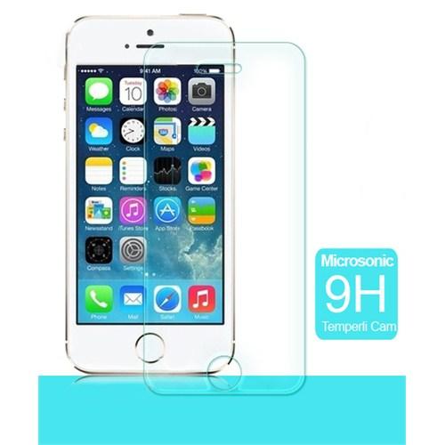 Microsonic iPhone 5/5s Temperli Cam Ekran Koruyucu