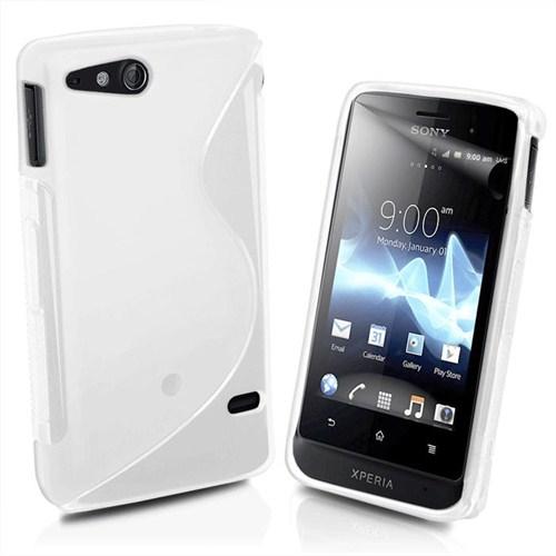 Microsonic S-Line Soft Kılıf - Sony Ericsson Xperia Go St27i Şeffaf