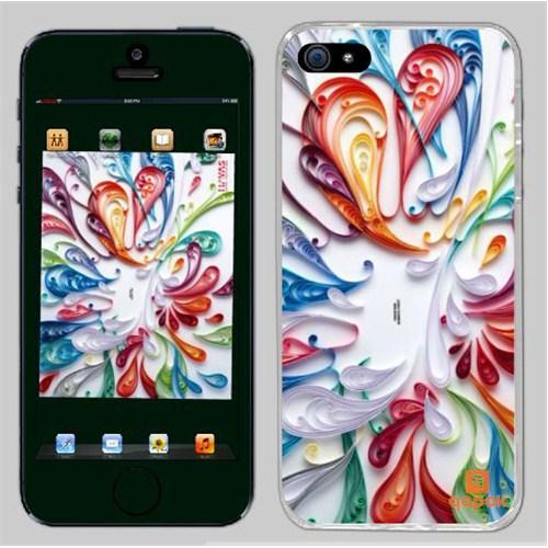 Qapak iPhone 5 Baskılı İnce Kapak uz244434010122