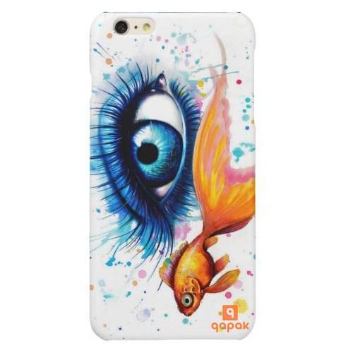 Qapak iPhone 6 Plus Baskılı İnce Kapak uz244434010297