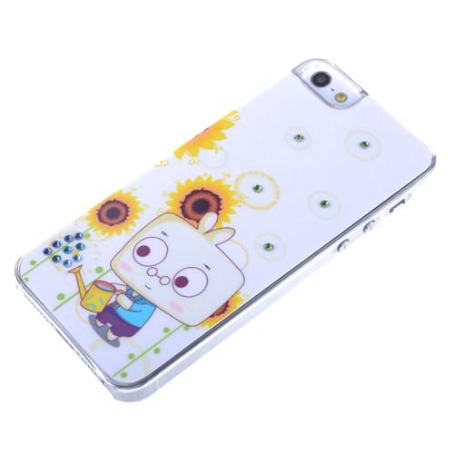 Qapak Taşlı Kapak iPhone 5/5s Renkli uz244434003100