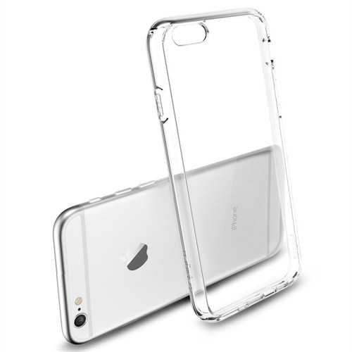 Qapak Apple iPhone 6 Plus Silikon Kapak Şeffaf uz244434009325