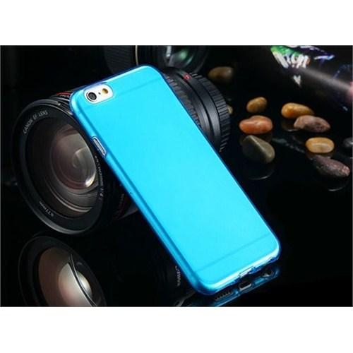 Qapak Silikon Kapak iPhone 6 Mavi uz244434009525