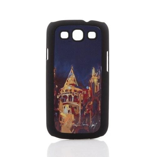 Biggdesign Samsung Galaxy S3 Siyah Kapak 062