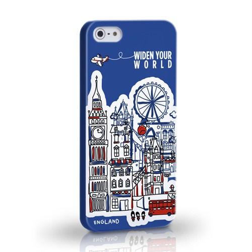 Tk CollectionApple iPhonde 5 / 5S England Kapak
